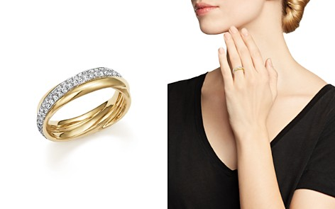 t ring rings in w white v layered gold tw diamond ct p crossover