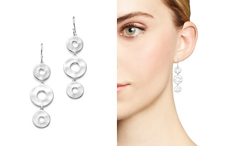IPPOLITA Sterling Silver Senso™ Linear Disc Earrings - Bloomingdale's_2