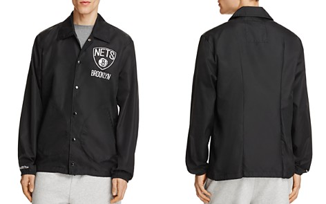 MITCHELL & NESS Brooklyn Nets NBA Coach Jacket - 100% Exclusive - Bloomingdale's_2