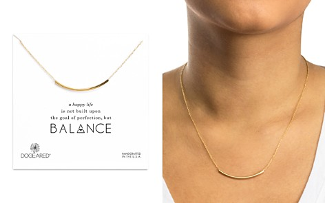 "Dogeared Balance Tube Necklace, 16"" - Bloomingdale's_2"
