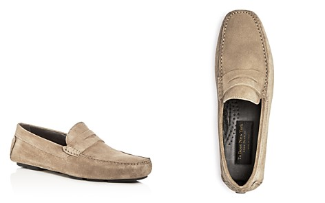 To Boot New York Men's Mitchum Suede Penny Loafer Drivers - Bloomingdale's_2