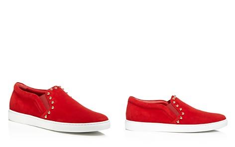 Salvatore Ferragamo Studded Slip-On Sneakers - Bloomingdale's_2