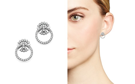 KC Designs 14K White Gold Diamond Circle Earrings - Bloomingdale's_2