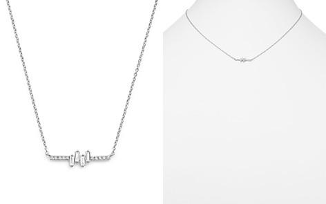 "KC Designs 14K White Gold Diamond Mosaic Necklace, 16"" - Bloomingdale's_2"