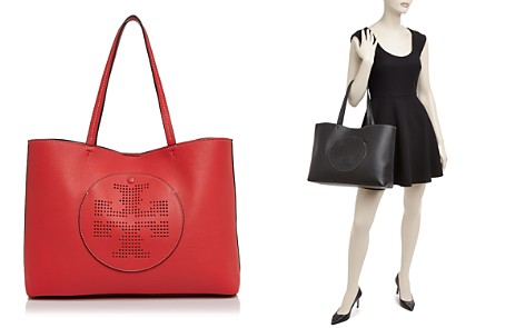 Tory Burch Perforated Logo Leather Tote - Bloomingdale's_2