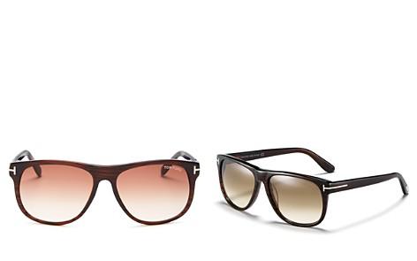 Tom Ford Men's Olivier Square Sunglasses, 57mm - Bloomingdale's_2