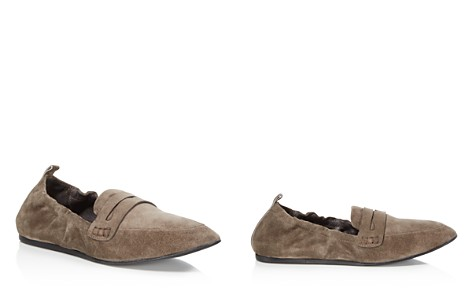 Charles David Milly Suede Loafers - Bloomingdale's_2
