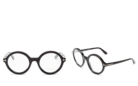 Tom Ford Round Optical Glasses, 52mm - Bloomingdale's_2