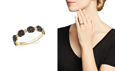 Diamond Micro Pavé Stacking Band in 14K Gold - 100% Exclusive - Bloomingdale's_2