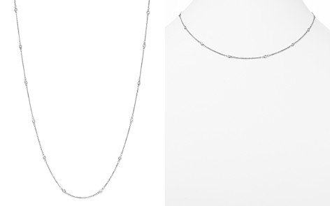 Diamond Station Necklace in 14K White Gold, .30 ct. t.w. - 100% Exclusive - Bloomingdale's_2