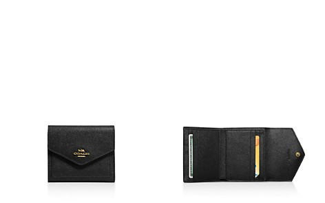 COACH Small Wallet in Crossgrain Leather - Bloomingdale's_2
