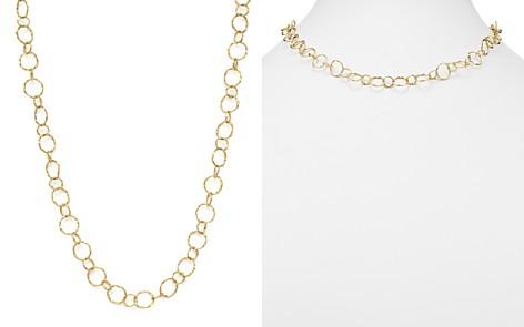 "Armenta 18K Yellow Gold Sueno Yellow Circle Link Necklace, 18"" - Bloomingdale's_2"