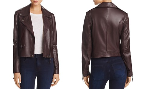 PAIGE Leather Danette Jacket - Bloomingdale's_2