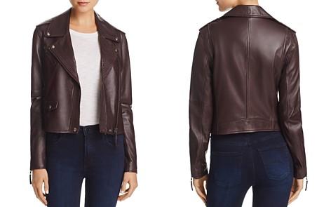 PAIGE Leather Danette Jacket - Bloomingdale's_2
