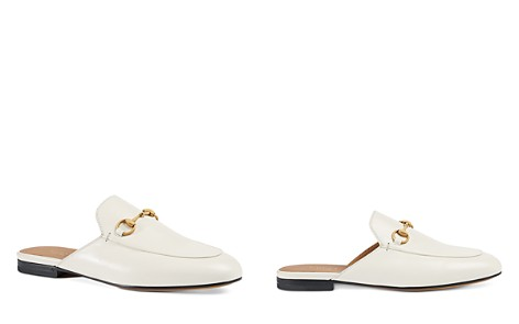 Gucci Womens Princetown Leather Mules 2