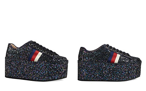 Gucci Peggy Platform Low Top Lace Up Sneakers - Bloomingdale's_2