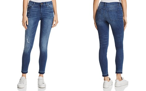 DL1961 Margaux Instasculpt Skinny Ankle Jeans in River - 100% Exclusive - Bloomingdale's_2