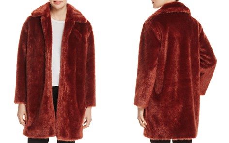 FRAME Faux Fur Coat - Bloomingdale's_2