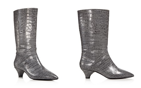 Marni Croc Embossed Tall Pointed Toe Boots - Bloomingdale's_2