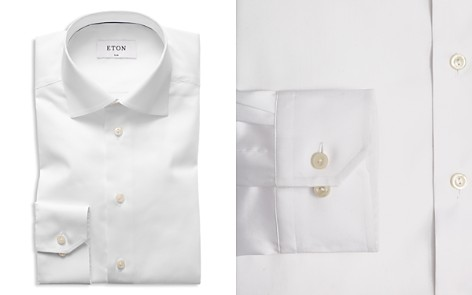 Eton of Sweden Signature Twill Slim Fit Dress Shirt - Bloomingdale's_2