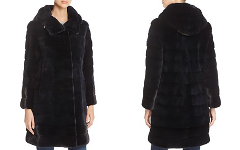 Maximilian Furs Hooded Kopenhagen Mink Fur Coat - 100% Exclusive - Bloomingdale's_2