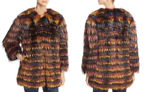 Maximilian Furs Multicolored Fox Fur Coat - Bloomingdale's_2