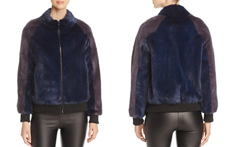 Maximilian Furs Mink Fur Bomber Jacket - 100% Exclusive - Bloomingdale's_2