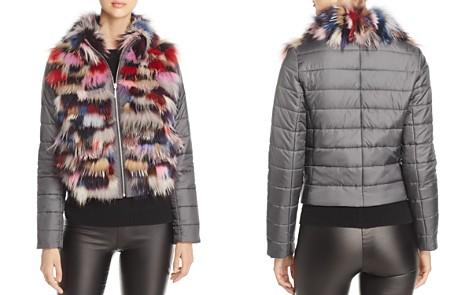 Maximilian Furs Saga Fox Fur Mixed Media Jacket - 100% Exclusive - Bloomingdale's_2