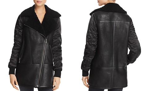 Andrew Marc Tamryn Long Shearling Jacket - Bloomingdale's_2