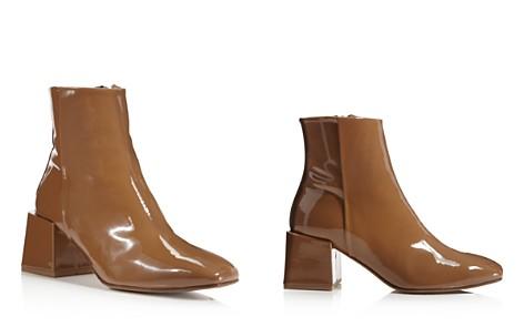 LoQ Lazaro Patent Leather Block Heel Booties - Bloomingdale's_2