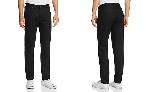 AG Dylan New Tapered Skinny Fit Jeans in Deep Pitch - Bloomingdale's_2