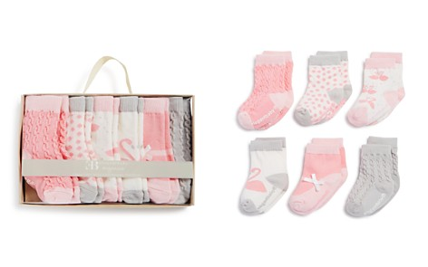 Elegant Baby Girls' Organic Socks, 6 Pack - Baby - Bloomingdale's_2
