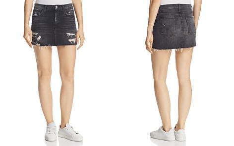 Hudson Vivid Denim Mini Skirt in Pretender - Bloomingdale's_2