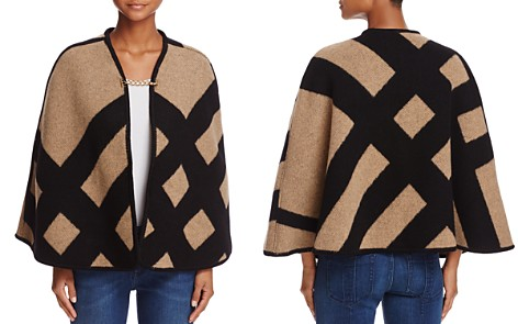 Burberry Blanket Check Poncho - Bloomingdale's_2