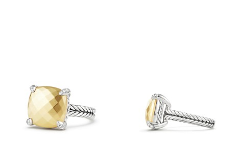 David Yurman Châtelaine® Ring with 18K Gold and Diamonds - Bloomingdale's_2