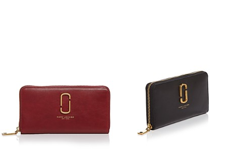 MARC JACOBS Double J Standard Leather Continental Wallet - Bloomingdale's_2