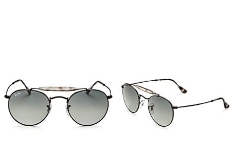 Ray-Ban Brow Bar Round Sunglasses, 50mm - Bloomingdale's_2