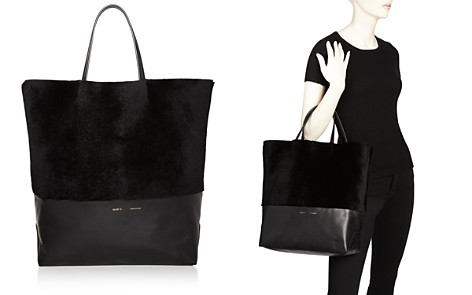 Alice.D Husky Large Shearling and Leather Tote - Bloomingdale's_2