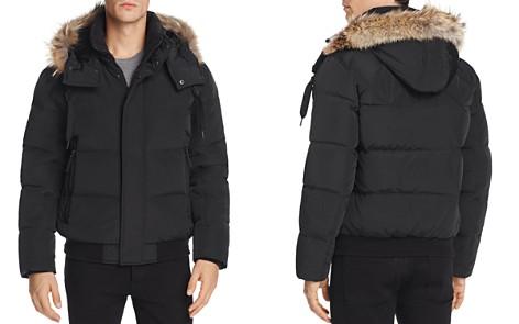 Marc New York Cedar Fur-Trimmed Hooded Bomber Jacket - Bloomingdale's_2