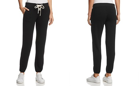 Monrow Lace-Up Sweatpants - Bloomingdale's_2