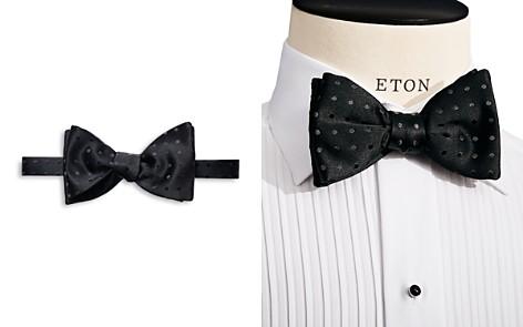 Eton Polka Dot Self Tie Bow Tie - Bloomingdale's_2