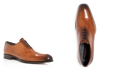 To Boot New York Men's Bateman Burnished Leather Medallion Toe Oxfords - Bloomingdale's_2