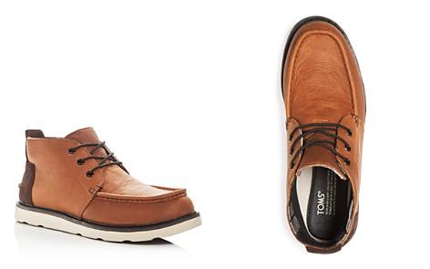 TOMS Men's Waterproof Leather Chukka Boots - Bloomingdale's_2