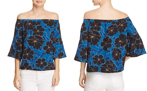 Cooper & Ella Nora Floral Off-the-Shoulder Top - Bloomingdale's_2