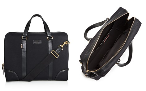 Paul Smith Canvas and Leather Detail Briefcase - Bloomingdale's_2