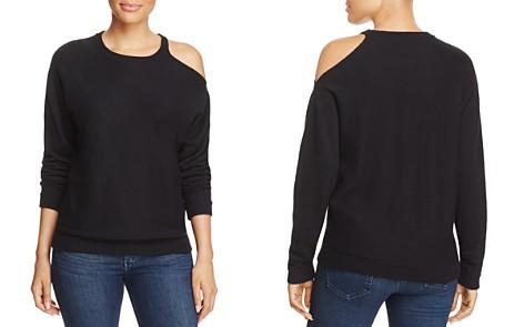 Minnie Rose Cold-Shoulder Sweater - Bloomingdale's_2