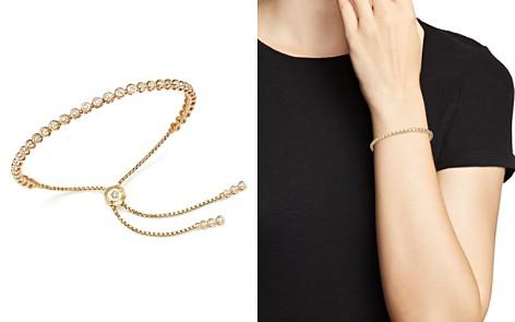 Diamond Bezel Tennis Bolo Bracelet in 14K Yellow Gold, 1.20 ct. t.w. - 100% Exclusive - Bloomingdale's_2