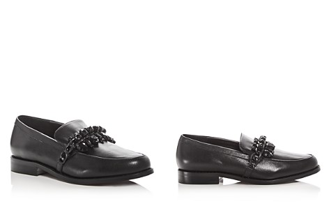 SENSO Women's Corby II Leather Embellished Loafers - Bloomingdale's_2