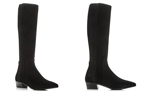 Aquatalia Women's Federica Weatherproof Suede Tall Boots - Bloomingdale's_2
