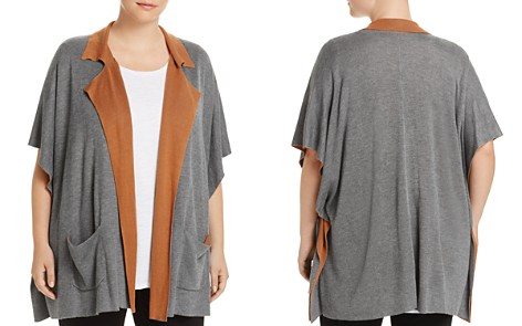 B Collection by Bobeau Curvy Liya Double Faced Cardigan - Bloomingdale's_2